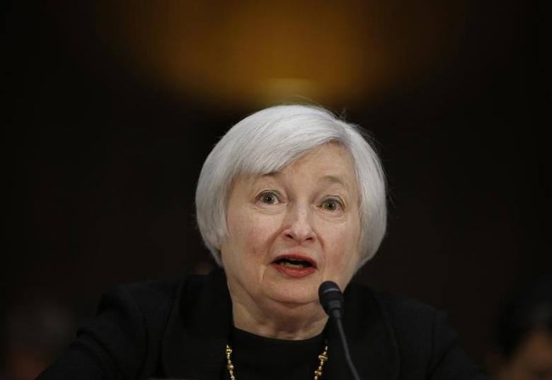 U.S. Federal Reserve Vice Chair Janet Yellen testifies during a Senate Banking Committee confirmation hearing on her nomination to be the next chairman of the Federal Reserve, on Capitol Hill in Washington November 14, 2013. REUTERS/Jason Reed