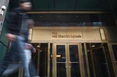 Le département de la Justice des Etats-Unis se prépare à poursuivre au civil Citigroup et Merrill Lynch, filiale de Bank of America, pour la vente litigieuse de valeurs mobilières avant la crise financière, selon des sources proches du dossier. /Photo d'archives/REUTERS/Keith Bedford