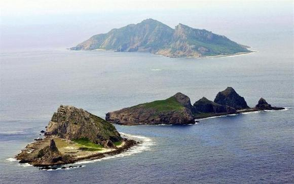 A part of the disputed islands in the East China Sea, known as the Senkaku isles in Japan, Diaoyu in China, is seen in the East China Sea in this aerial view photo taken in October, 2010. REUTERS/Kyodo/Files
