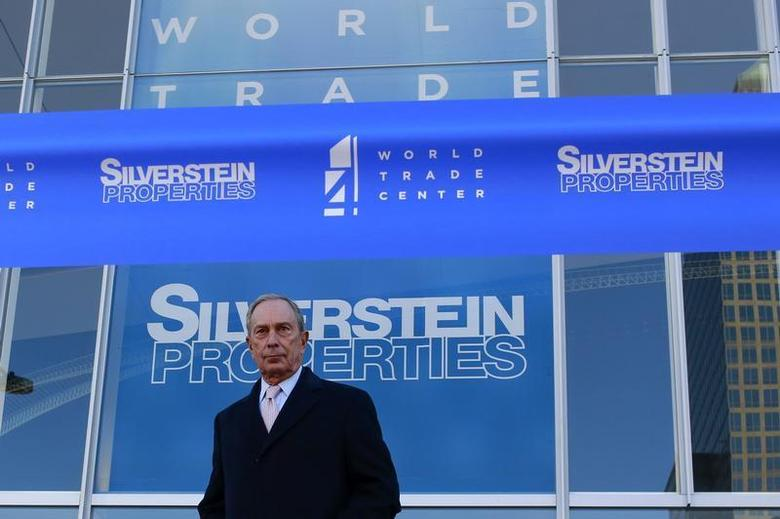 New York City Mayor Michael Bloomberg stands before a ribbon cutting ceremony to mark the opening of the new 4 World Trade Center in New York November 13, 2013. REUTERS/Shannon Stapleton
