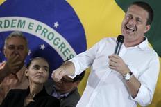 Governador de Pernambuco, Eduardo Campos (PSB), durante encontro no qual foi anunciada a aliança com a ex-senadora Marina Silva, que se filiou ao PSB, em Brasília. A mudança mais urgente a ser feita por quem assumir a Presidência em 2015 será retomar a confiança do mercado e do empresariado, o que não está mais nas mãos da presidente Dilma Rousseff, pois ela manteria o ambiente de desconfiança, avalia Campos, que tentará derrotar a petista nas eleições do ano que vem. 5/10/2013. REUTERS/Ueslei Marcelino