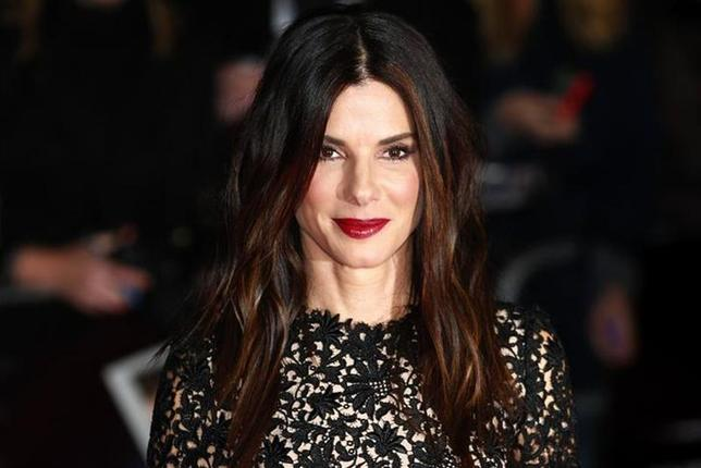Actress Sandra Bullock arrives at a gala screening of her film ''Gravity'' at the London Film Festival at a cinema in Leicester Square, central London, October 10, 2013. REUTERS/Andrew Winning