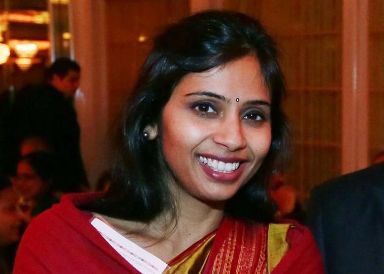 Devyani Khobragade, India's deputy consul general, attends the India Studies Stony Brook University fundraiser event in Long Island, New York, December 8, 2013. REUTERS/Mohammed Jaffer/SnapsIndia