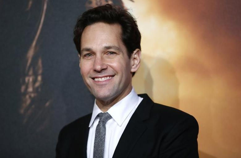 Actor Paul Rudd poses at the UK Premiere of the film Anchorman 2 in Leicester Square, London, December 11, 2013. REUTERS/Andrew Winning