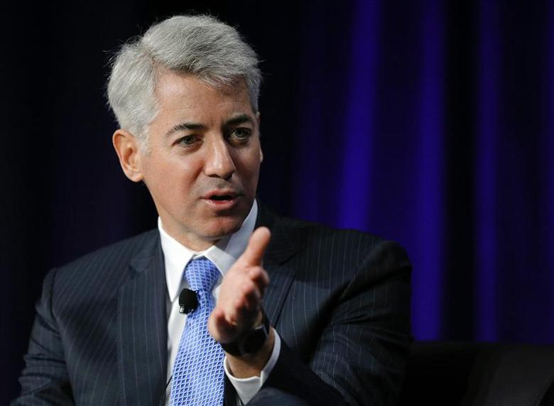 William Ackman, CEO of Pershing Square Capital Management, speaks at the Partner Connect 2013 conference, sponsored by Thomson Reuters, in Boston in this April 5, 2013, file photo. REUTERS/Brian Snyder