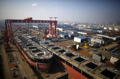 Shipyards of Shanghai