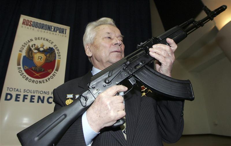 AK-47 rifle inventor Mikhail Kalashnikov dies at 94