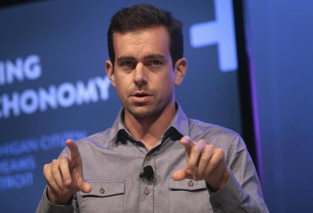 Jack Dorsey, chairman of Twitter and CEO of Square, takes part in the Techonomy Detroit panel discussion held at Wayne State University in Detroit, Michigan September 17, 2013. REUTERS/Rebecca Cook