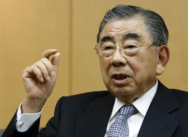Toshifumi Suzuki, chairman and CEO of Seven And I Holdings Co Ltd speaks during an intewview with Reuters at its headquarters in Tokyo December, 18 2013. REUTERS/Yuya Shino