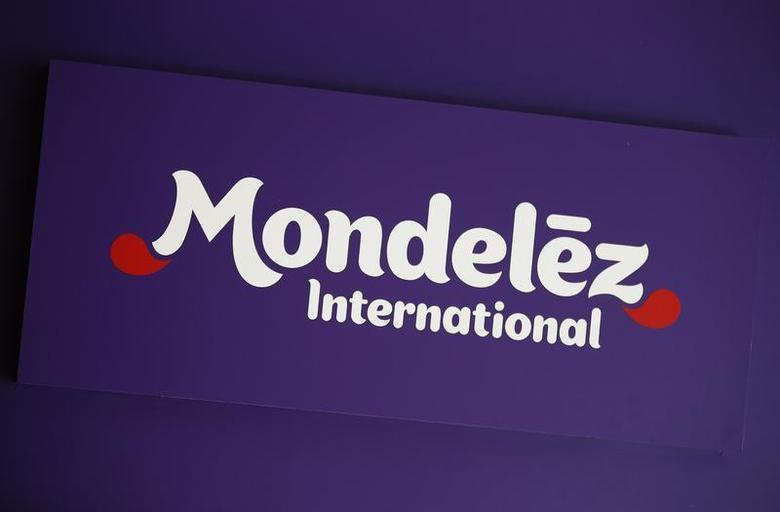 The logo of Mondelez International is pictured at the company's building in Zurich November 14, 2012. REUTERS/Michael Buholzer