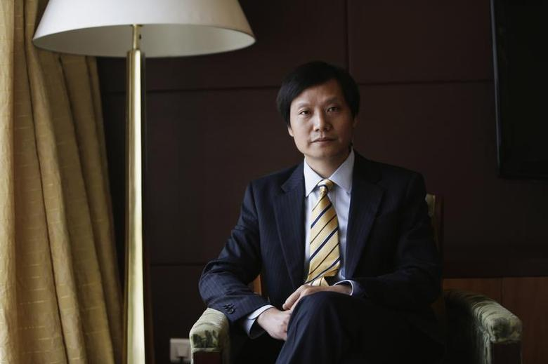 Lei Jun, founder and CEO of China's mobile company Xiaomi, poses for a photo ahead of an interview during the Fortune Global Forum (FGF) in Chengdu, Sichuan province, June 6, 2013. REUTERS/Jason Lee
