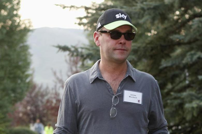 News Corp Deputy Chief Operating Officer James Murdoch attends the Allen & Co Media Conference in Sun Valley, Idaho July 12, 2012. REUTERS/Jim Urquhart