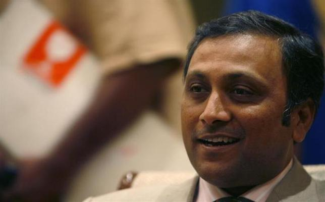 Raj Jain speaks during an interview with Reuters in New Delhi August 7, 2007. REUTERS/Tanushree Punwani/Files