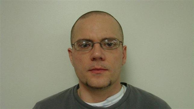 Jason Carter is pictured in this undated booking photo courtesy of Oconee County Sheriff's Office. REUTERS/Oconee County Sheriff's Office/Handout via Reuters