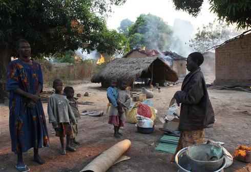 Violence in Central African Republic displaces nearly 1 million: U.N.