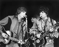 The Everly Brothers perform at Caesars Palace in Las Vegas in this December 1970 handout photo provided by the Las Vegas News Bureau on January 3, 2014. REUTERS/Las Vegas News Bureau/Handout via Reuters