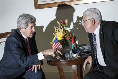 Kerry sees progress on Israeli-Palestinian framework...