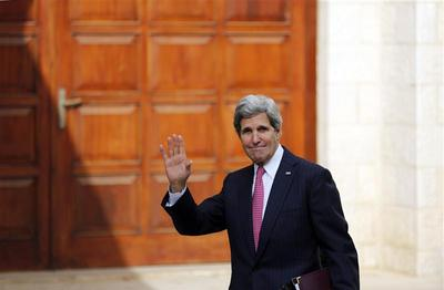 Kerry says Iran could help on sidelines of Syrian peace talks