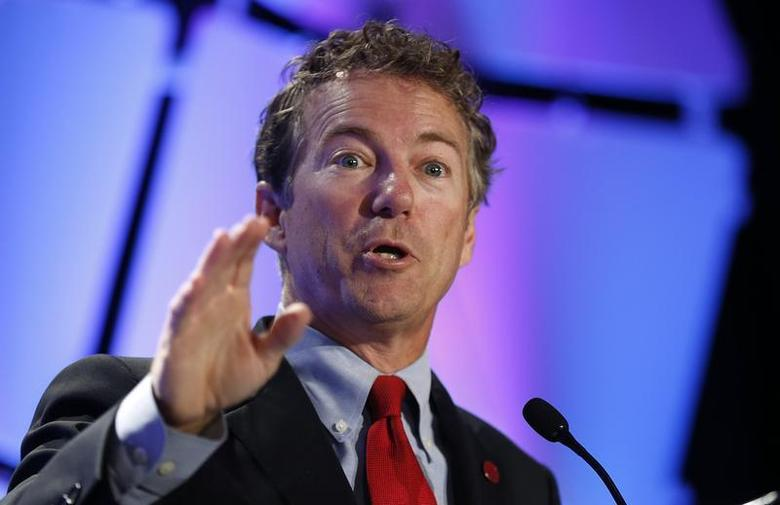 Senator Rand Paul (R-KY) speaks at the Liberty Political Action Conference (LPAC ) in Chantilly, Virginia September 19, 2013. REUTERS/Kevin Lamarque