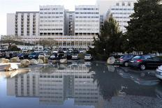 General view of the CHU hospital emergency unit in Grenoble, French Alps, where seven-time former Formula One world champion Michael Schumacher is hospitalised January 5, 2014. REUTERS/Charles Platiau
