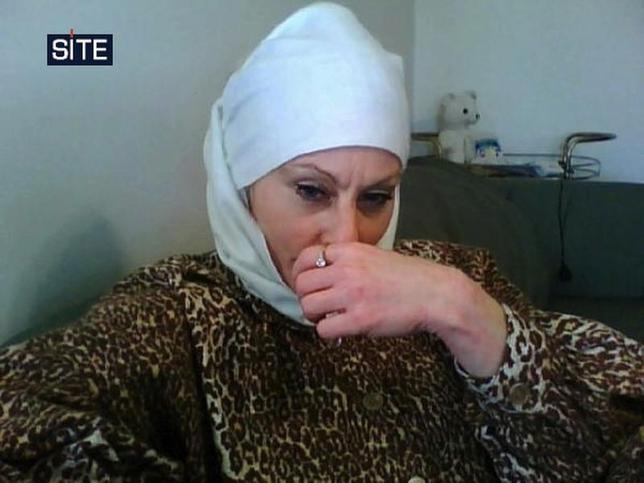 Colleen LaRose, known by the self-created pseudonym of ''Jihad Jane'', is pictured in this photo released by Site Intelligence Group on March 10, 2010. REUTERS/Site Intelligence Group/Handout