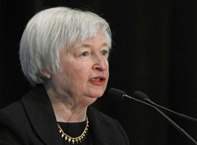 Janet Yellen, President Barack Obama's nominee to lead the U.S. Federal Reserve addresses the 29th National Association for Business Economics Policy Conference in Washington in this file photo taken March 4, 2013. REUTERS/Gary Cameron/Files