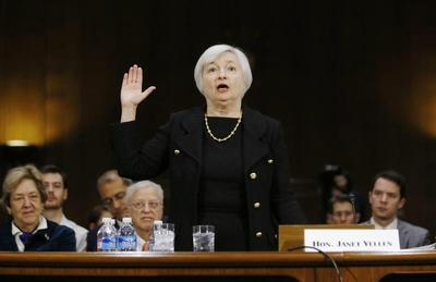 Yellen approved to head Fed; only Republicans vote...