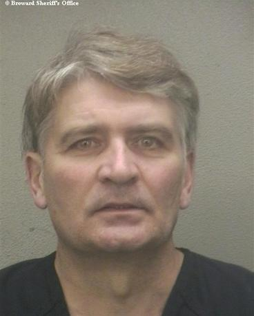 Former UBS banker Raoul Weil is seen in a booking photo after his arrival at the Broward Sheriff's Office in Fort Lauderdale, Florida, received December 13, 2013. REUTERS/Broward Sheriff's Office via Reuters