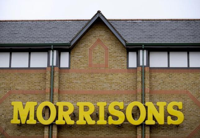 A Morrisons supermarket is seen, in west London January 22, 2009. REUTERS/Toby Melville