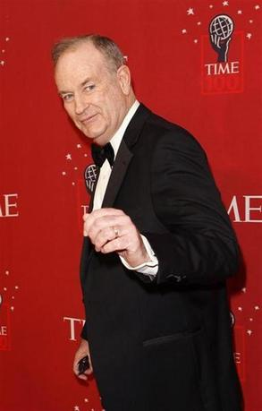 Television personality Bill O'Reilly arrives for Time magazine's 100 most influential people gala in New York May 8, 2008. REUTERS/Lucas Jackson