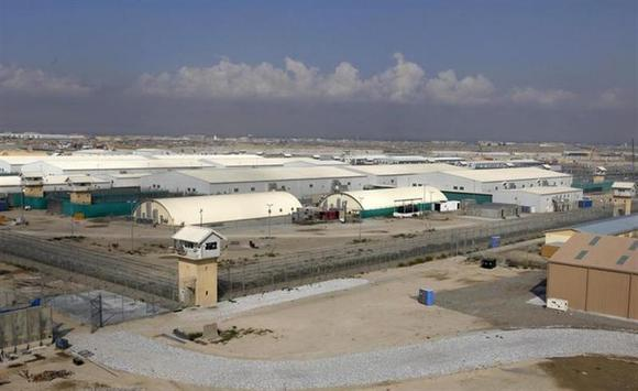 A general view of the prison compound before a ceremony handing over the Bagram prison to Afghan authorities, at the U.S. airbase in Bagram, north of Kabul September 10, 2012. REUTERS/Omar Sobhani/Files