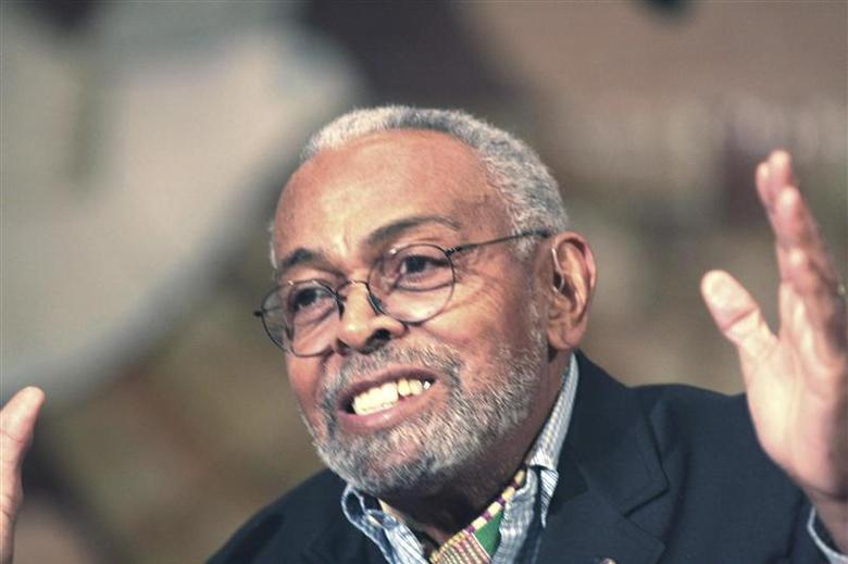 U.S. playwright, poet and activist Amiri Baraka is seen in an undated handout picture provided by his publicist January 9, 2014. REUTERS/Z. Risasi Dais/Handout