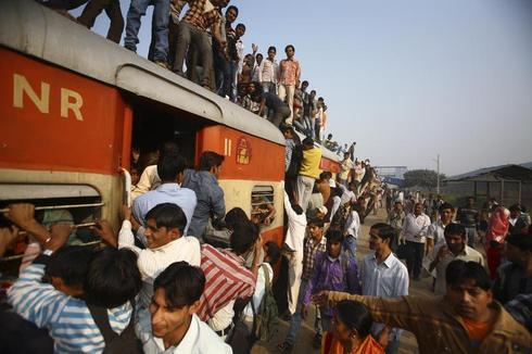 Riding India's railways