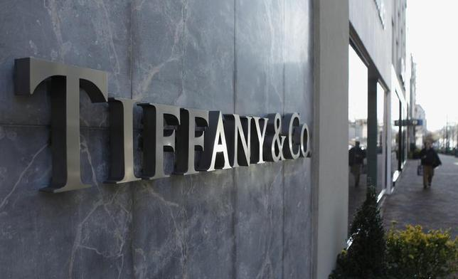 A Tiffany & Co. store front sign is seen in Bethesda, Maryland November 29, 2012. REUTERS/Gary Cameron