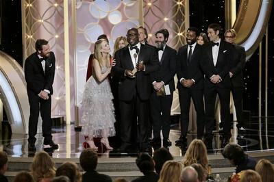 '12 Years a Slave, 'American Hustle' take top Golden...