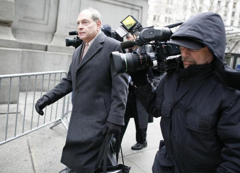 Irving Picard, the bankruptcy trustee in the Bernard Madoff case, exits the U.S. Bankruptcy Court in New York February 2, 2010. REUTERS/Brendan McDermid