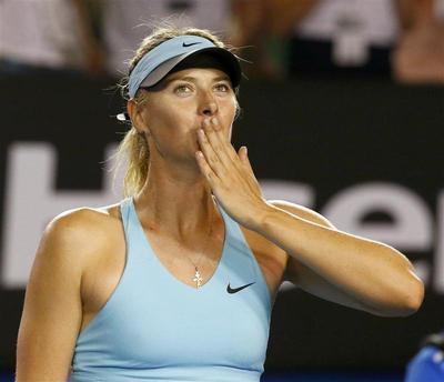 Sharapova overpowers Mattek-Sands in clash of styles