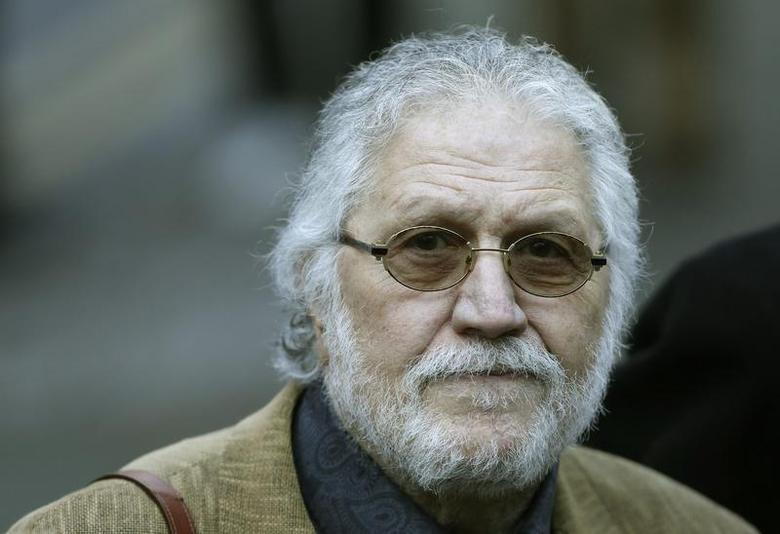 Former Radio 1 DJ, Dave Lee Travis, real name David Patrick Griffin arrives at Southwark Crown Court in London January 14, 2014. REUTERS/Suzanne Plunkett