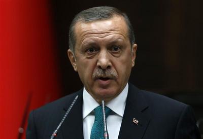 Erdogan says Turkish corruption probe ''black stain'' on...