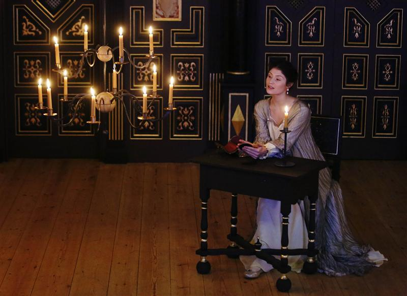 Murder by candlelight at London's new Jacobean theatre