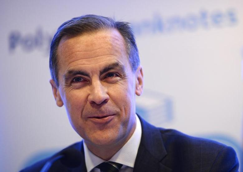 The Governor of Britain's Bank of England, Mark Carney, speaks at a news conference at the Bank of England, in the City of London December 18, 2013. REUTERS/Dylan Martinez