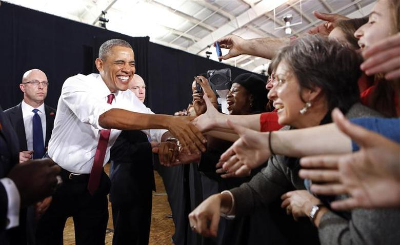 Obama unveils manufacturing hub on North Carolina trip