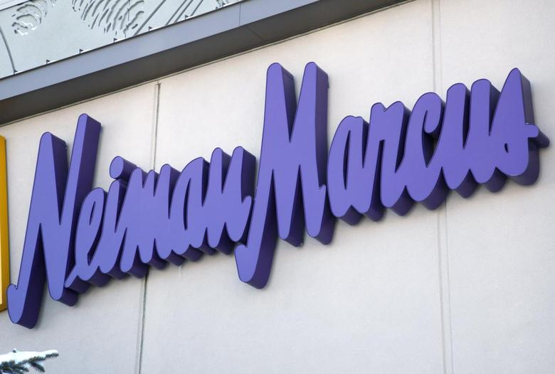 The Neiman Marcus sign outside a store in Golden, Colorado December 9, 2009. REUTERS/Rick Wilking