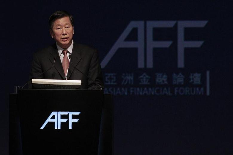 Chairman of China Securities Regulatory Commission Shang Fulin attends the Asian Financial Forum in Hong Kong January 17, 2011. REUTERS/Tyrone Siu