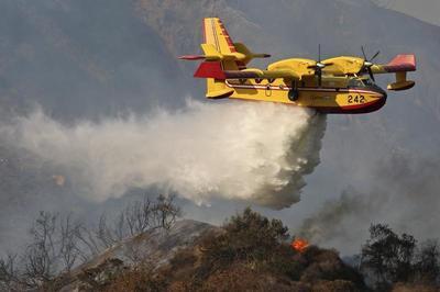 Wildfire near Los Angeles
