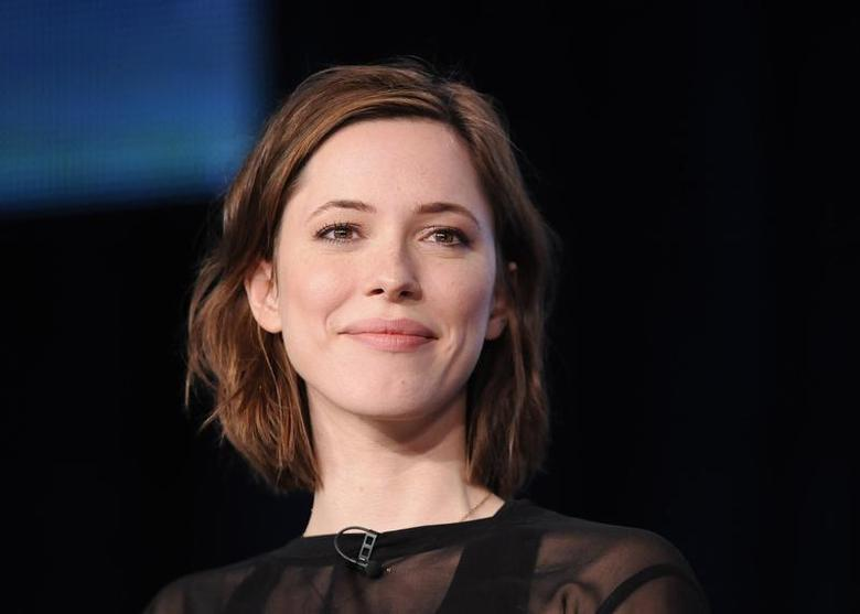 British actress Rebecca Hall takes part in a panel discussion of HBO's ''Parade's End'' during the 2013 Winter Press Tour for the Television Critics Association in Pasadena, California, January 4, 2013. REUTERS/Gus Ruelas