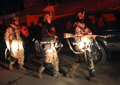 Up to 15, mostly foreigners, killed in Kabul suicide...