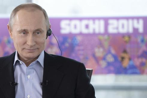 Russia's Putin denies large-scale Olympic corruption