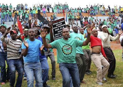 South Africa's AMCU union to strike at world's top...