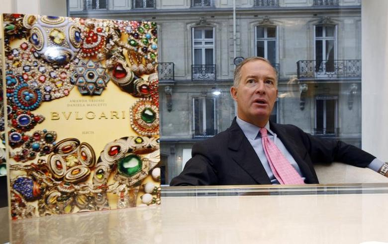 Italian jeweller Bulgari's chief executive Francesco Trapani speaks during an interview with Reuters in Paris September 30, 2008. REUTERS/Jacky Naegelen